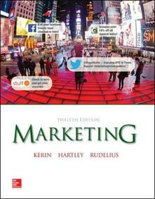 Marketing - Roger A. Kerin,Steven W. Hartley,William Rudelius - copertina