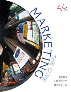 Libro Marketing: the core Roger Kerin , Steven Hartley , William Rudelius