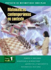 Matematicas Contemporaneas en Contexto, Curso 1, Parte B: Un Planteamiento Unificado - McGraw-Hill Education - cover