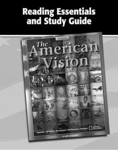 The American Vision, Reading Essentials and Study Guide, Workbook - McGraw-Hill Education - cover