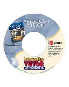 The American Vision, Interactive Tutor: Self-Assessment CD-ROM - McGraw-Hill Education - cover
