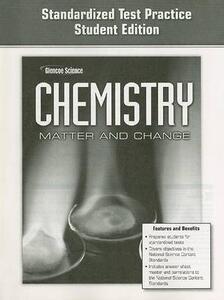 Glencoe Chemistry Standardized Test Practice: Matter and Change - cover