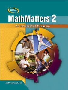 Mathmatters 2: An Integrated Program, Student Edition - McGraw-Hill - cover
