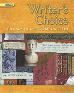 Writer's Choice, Grade 10: Grammar and Composition - cover