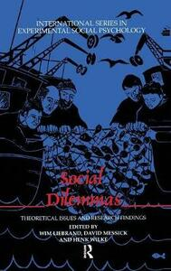 Social Dilemmas: Theoretical Issues and Research Findings - cover