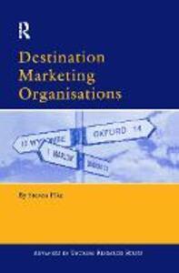 Destination Marketing Organisations - Steven Pike - cover
