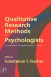 Qualitative Research Methods for Psychologists