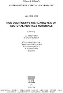 Ebook in inglese Non-destructive Micro Analysis of Cultural Heritage Materials
