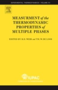 Foto Cover di Measurement of the Thermodynamic Properties of Multiple Phases, Ebook inglese di  edito da Elsevier Science