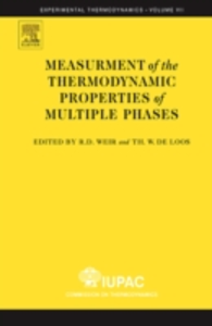 Ebook in inglese Measurement of the Thermodynamic Properties of Multiple Phases -, -