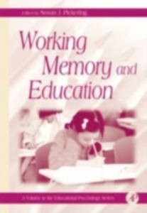 Ebook in inglese Working Memory and Education -, -