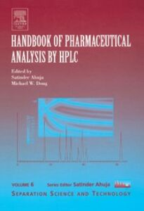 Foto Cover di Handbook of Pharmaceutical Analysis by HPLC, Ebook inglese di  edito da Elsevier Science