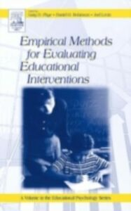 Foto Cover di Empirical Methods for Evaluating Educational Interventions, Ebook inglese di  edito da Elsevier Science