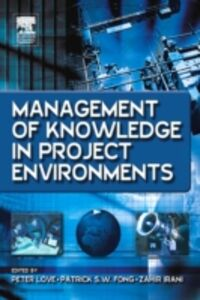 Ebook in inglese Management of Knowledge in Project Environments -, -
