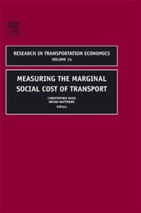 Ebook in inglese Measuring the Marginal Social Cost of Transport -, -