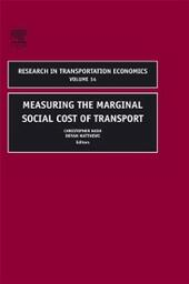 Measuring the Marginal Social Cost of Transport
