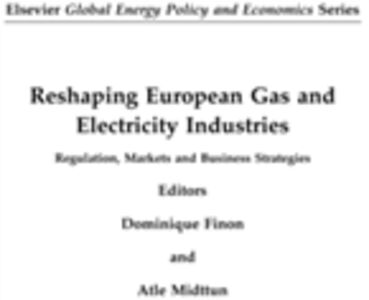 Ebook in inglese Reshaping European Gas and Electricity Industries