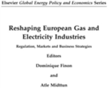 Ebook in inglese Reshaping European Gas and Electricity Industries -, -
