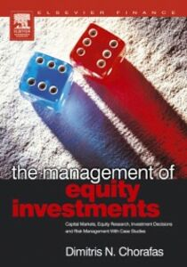 Foto Cover di Management of Equity Investments, Ebook inglese di Dimitris N. Chorafas, edito da Elsevier Science
