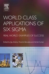 Ebook in inglese World Class Applications of Six Sigma -, -