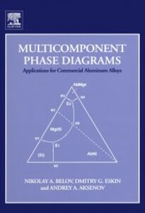 Ebook in inglese Multicomponent Phase Diagrams: Applications for Commercial Aluminum Alloys Aksenov, Andrey A. , Belov, Nikolay A. , Eskin, Dmitry G.