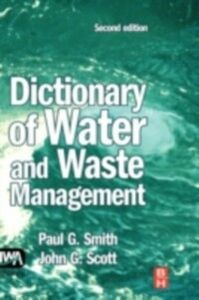 Ebook in inglese Dictionary of Water and Waste Management Smith, Paul G