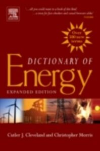 Ebook in inglese Dictionary of Energy