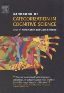Ebook in inglese Handbook of Categorization in Cognitive Science Cohen, Henri