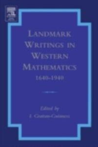 Ebook in inglese Landmark Writings in Western Mathematics 1640-1940 -, -