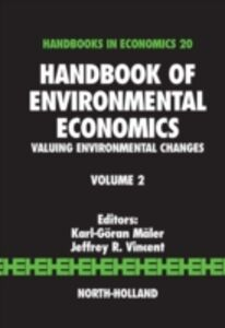 Ebook in inglese Handbook of Environmental Economics