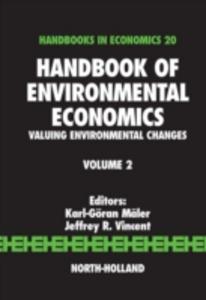 Ebook in inglese Handbook of Environmental Economics -, -