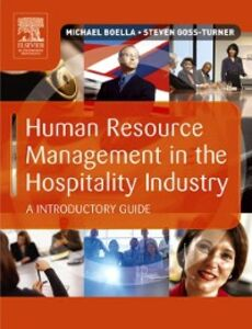 Ebook in inglese Human Resource Management in the Hospitality Industry Boella, Michael J , Goss-Turner, Steven