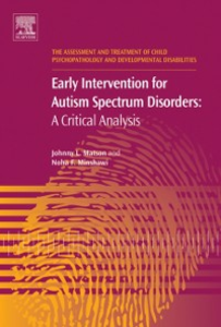 Ebook in inglese Early Intervention for Autism Spectrum Disorders Matson, Johnny L. , Minshawi, Noha F.