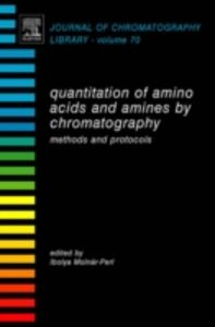 Ebook in inglese Quantitation of Amino Acids and Amines by Chromatography -, -