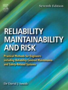 Foto Cover di Reliability, Maintainability and Risk, Ebook inglese di David J. Smith, edito da Elsevier Science