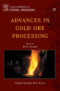 Ebook in inglese Advances in Gold Ore Processing -, -