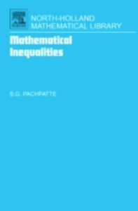 Ebook in inglese Mathematical Inequalities Pachpatte, B. G.