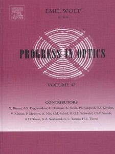 Foto Cover di Progress in Optics, Ebook inglese di Emil Wolf, edito da Elsevier Science