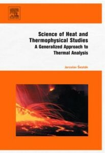 Foto Cover di Science of Heat and Thermophysical Studies, Ebook inglese di Jaroslav Sestak, edito da Elsevier Science