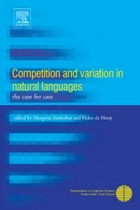 Ebook in inglese Competition and Variation in Natural Languages -, -
