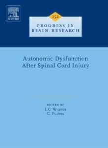 Foto Cover di Autonomic Dysfunction After Spinal Cord Injury, Ebook inglese di  edito da Elsevier Science