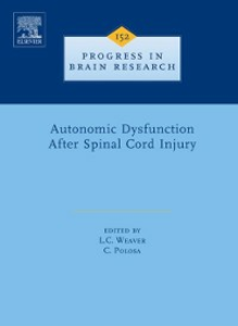 Ebook in inglese Autonomic Dysfunction After Spinal Cord Injury -, -