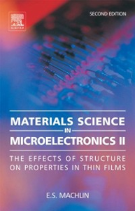 Ebook in inglese Materials Science in Microelectronics II Machlin, Eugene