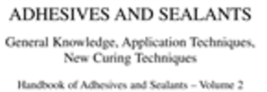 Foto Cover di Handbook of Adhesives and Sealants, Ebook inglese di Phillipe Cognard, edito da Elsevier Science