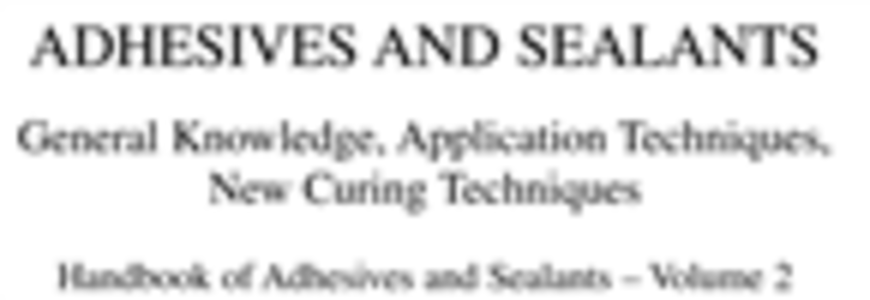 Ebook in inglese Handbook of Adhesives and Sealants Cognard, Phillipe