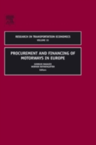 Ebook in inglese Procurement and Financing of Motorways in Europe -, -