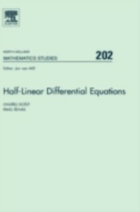 Ebook in inglese Half-Linear Differential Equations Dosly, Ondrej , Rehak, Pavel