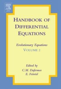 Foto Cover di Handbook of Differential Equations: Evolutionary Equations, Ebook inglese di  edito da Elsevier Science