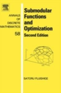 Foto Cover di Submodular Functions and Optimization, Ebook inglese di Satoru Fujishige, edito da Elsevier Science