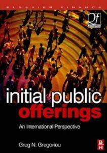 Ebook in inglese Initial Public Offerings (IPO) Gregoriou, Greg N.